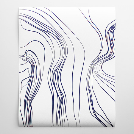 Barclay Haro Art Concepts Linear Abstract