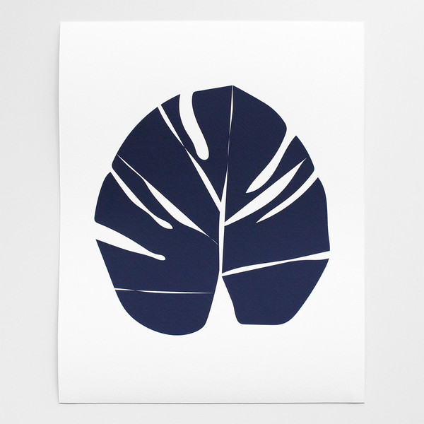 Barclay Haro Art Concepts Monstera Leaf