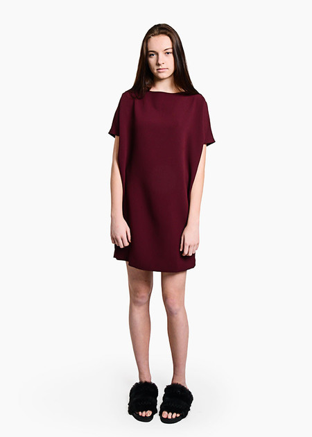 Kaarem - Angle Mini Dolman Open Back Dress
