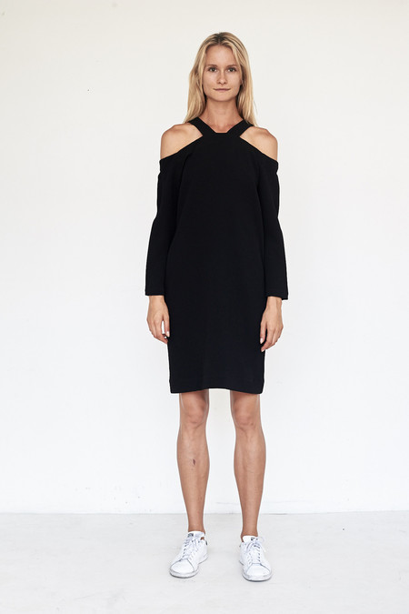 Nomia Stretch Crinkle Trestle Dress