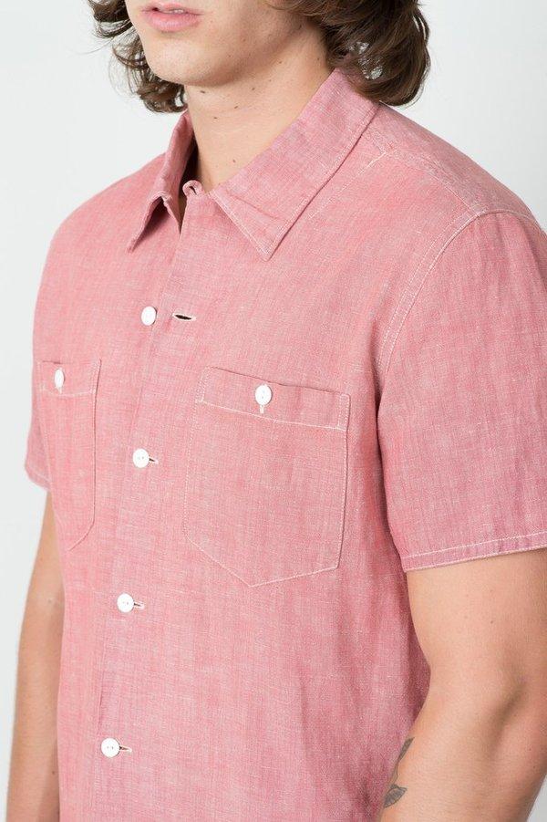 Men's RRL - Linen Cotton Camp Shirt