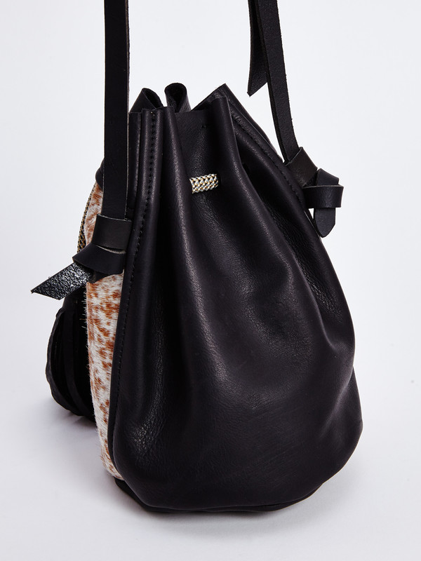 Eleven Thirty CHRISTIE BAG / BROWN & WHITE PONY