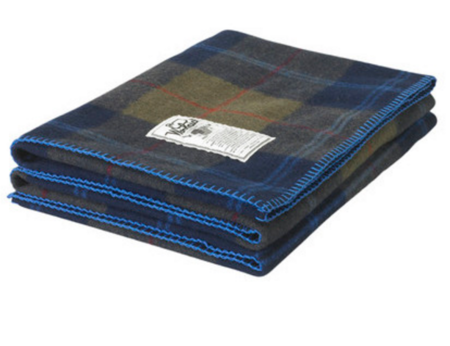 Woolrich Rough Rider Plaid Wool Blanket