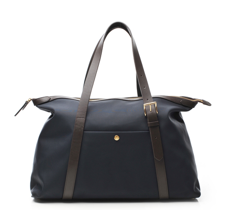 Navy and Brown Holdall by Mismo