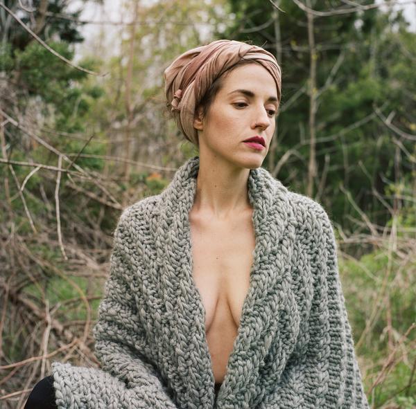 good night, day Goderich Blanket DIY kit includes Peruvian wool & circular needles