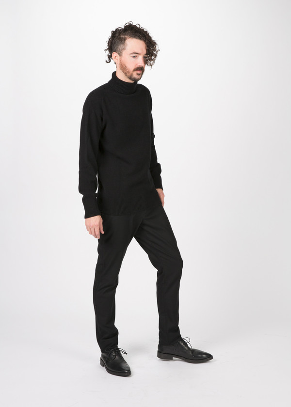 Men's You Must Create Cale Roll Neck Sweater