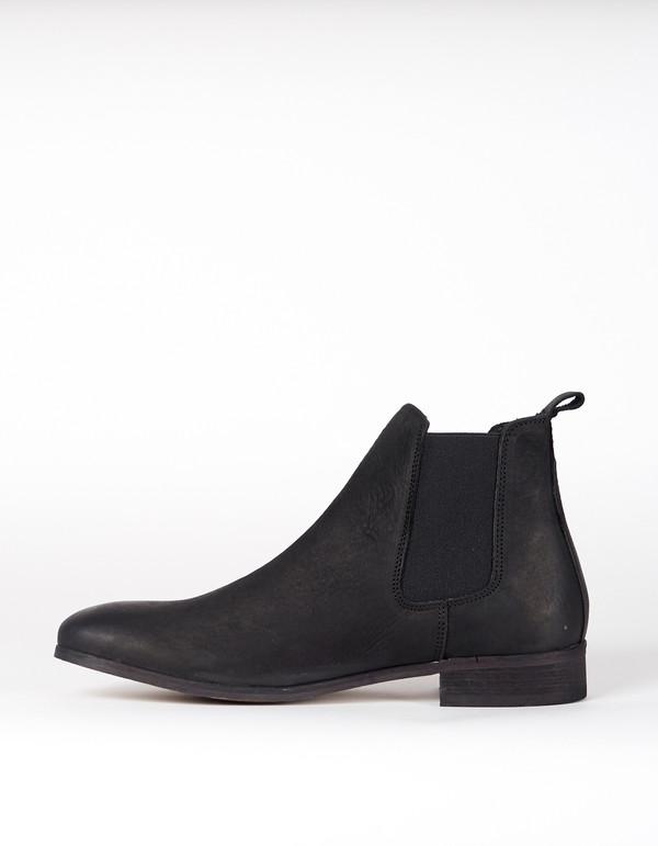 Shoe The Bear Nubuck Chelsea Boot Black