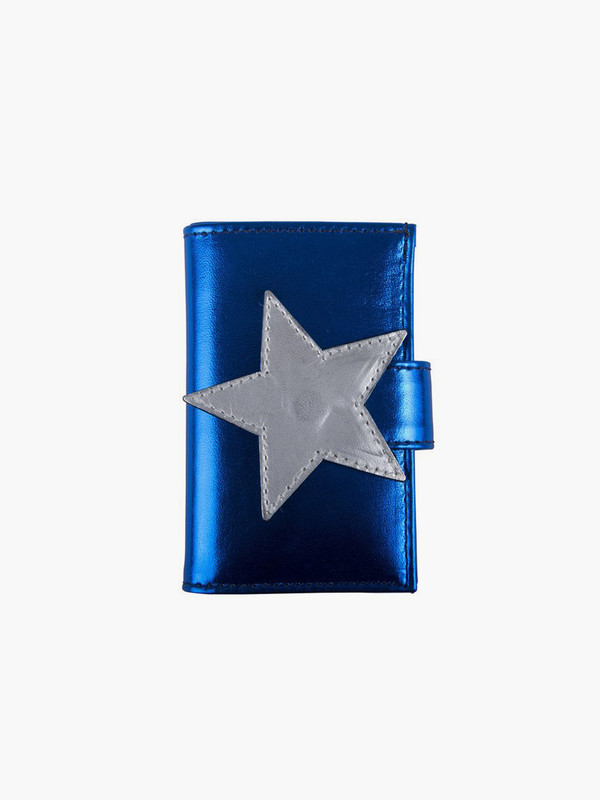 Welcome Companions Small Star Wallet Blue