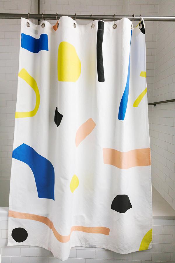 Dusen Dusen Paper Shower Curtain