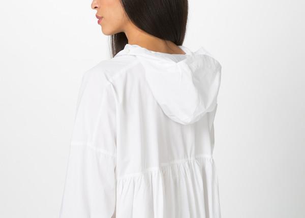 Rundholz Hooded Ruffle Dress