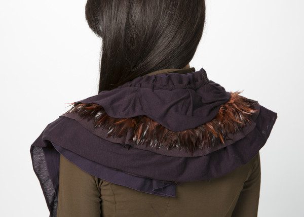 Rundholz Jersey Feather Collar