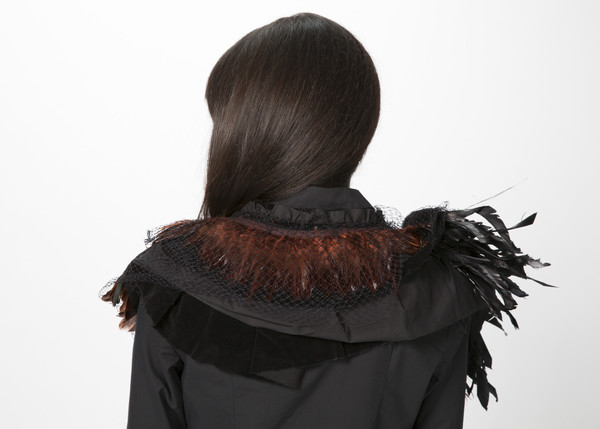 Rundholz Tulle Feather Collar