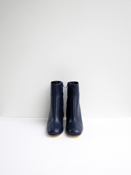 Maryam Nassir Zadeh Agnes Boot, Navy Calf