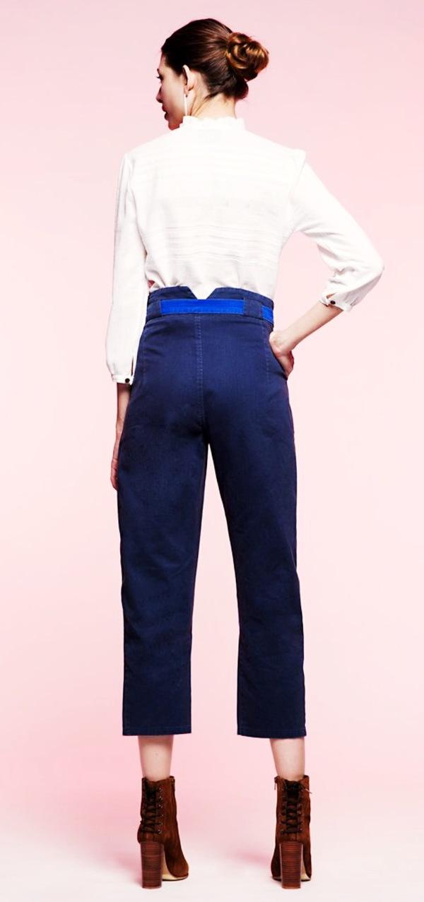 Loup Farmer Pants Navy/Royal