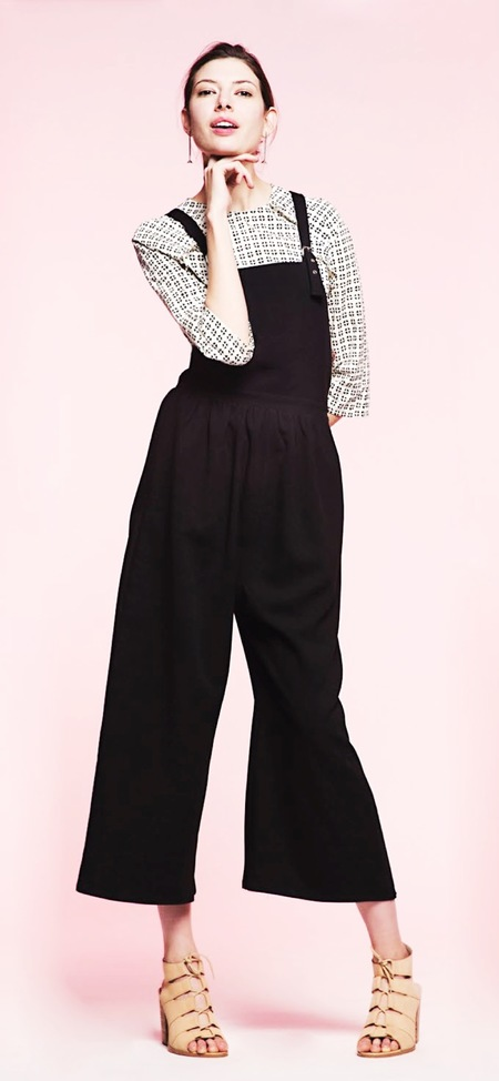 Loup Ruby Overalls Black