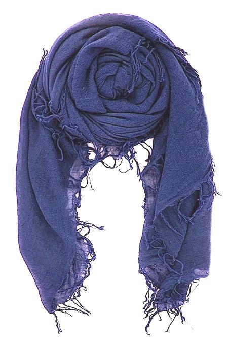 Chan Luu - Cashmere & Silk Baja Blue Scarf