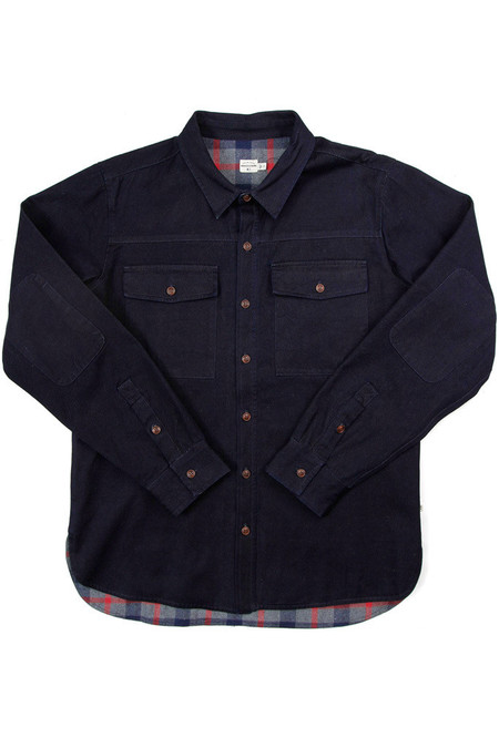 Bridge & Burn Flint Overshirt Denim