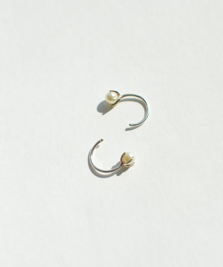 Bing Bang NYC Bing Bang Tiny Pearl Hoops