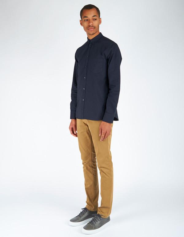 Men's Filippa K Paul Oxford Shirt Navy Night Blue