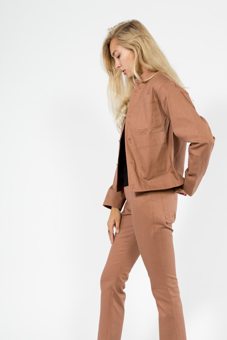 Nomia Cropped Work Jacket