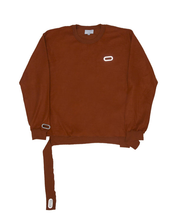 Collina Strada - Sweat Crewneck - Rust