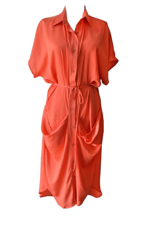 Corey Lynn Calter - Shelly Drape Pocket Dress