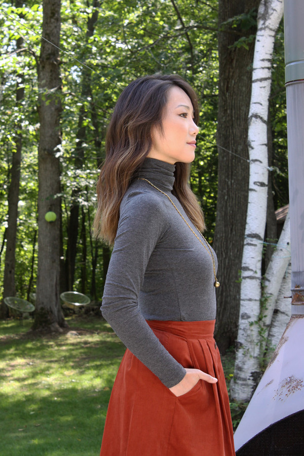Betina Lou Viviane Turtleneck (Charcoal)