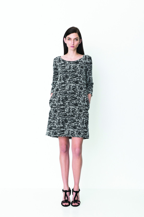 """Storm + Marie Storm and Marie """"Elle"""" Jacquard Knit Printed Dress"""