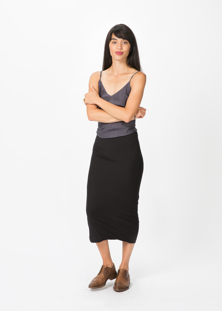 Organic by John Patrick Long Viscose Skirt