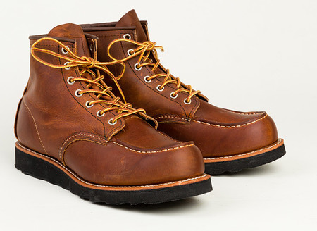 "Men's Red Wing Shoes 6"" Moc Toe No. 8886"