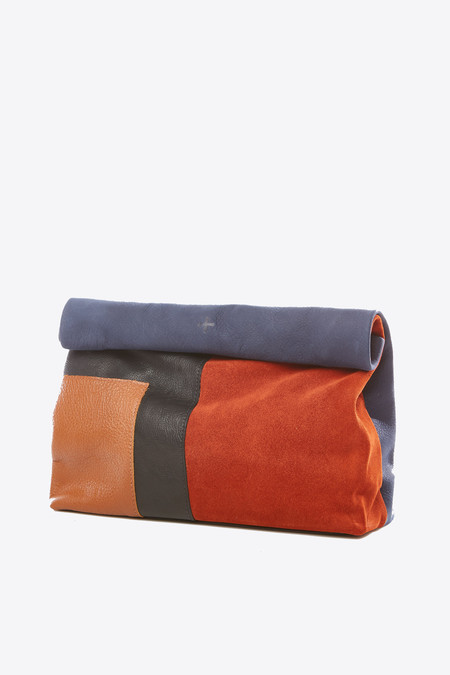 Marie Turnor Lunch Clutch in patchwork
