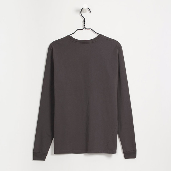 Kowtow Charcoal Boyfriend Top
