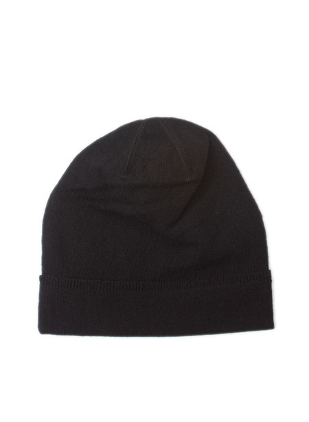 Our Legacy Knitted Hat Black Merino