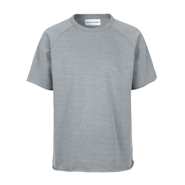 Won Hundred Marlon Short Sleeve Sweatshirt  - Vintage Limestone