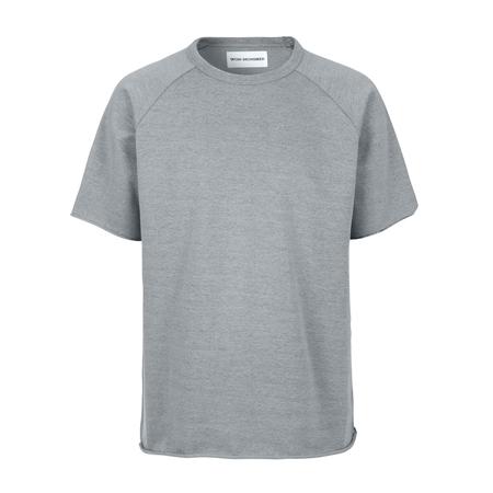 Won Hundred Marlon Short Sleeve Sweatshirt  - Vintage Limestone