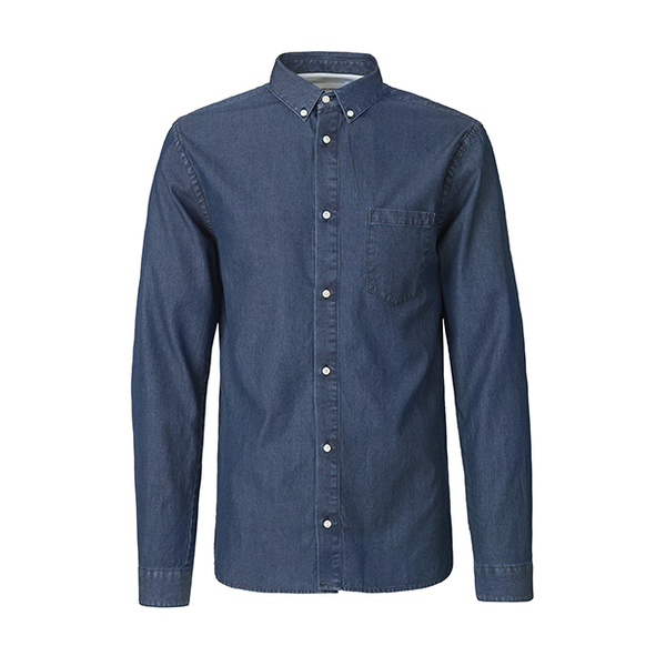 The Lester Shirt - Dark Denim