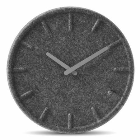 Left Amsterdam Felt Wall Clock