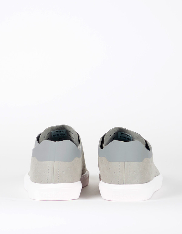 Native Shoes Native Monaco Low Non Perf Pigeon Grey Shell White