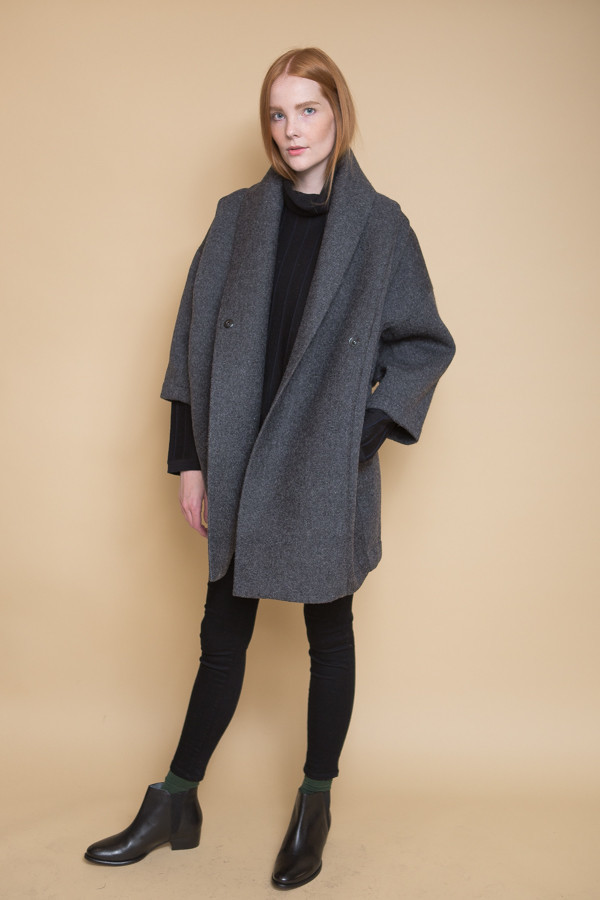Reality Studio Xiong Coat - Anthracite