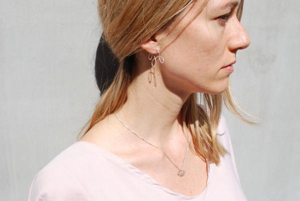 Fixed Air Silo Earrings