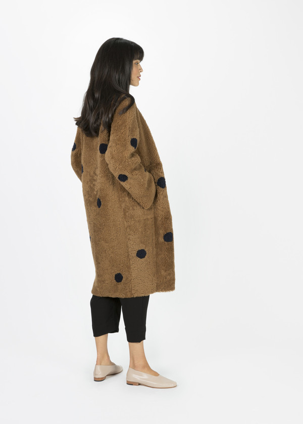 Anne Vest Akita Reversible Shearling Coat