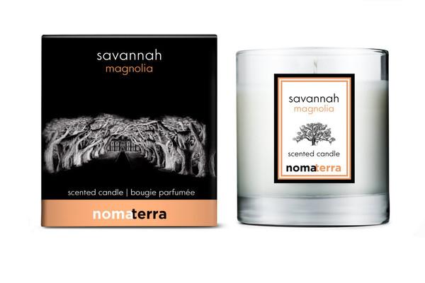 Nomaterra - Magnolia Soy Candle (Savannah)