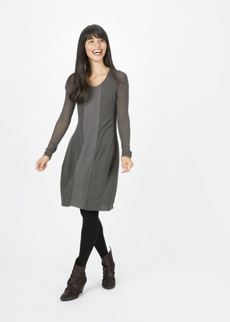 Rundholz BL Wool Front Panel Dress