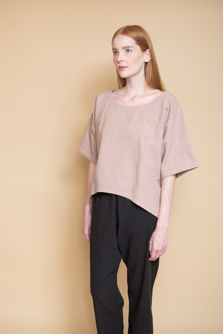 Atelier Delphine Free Top / Mauve Taupe