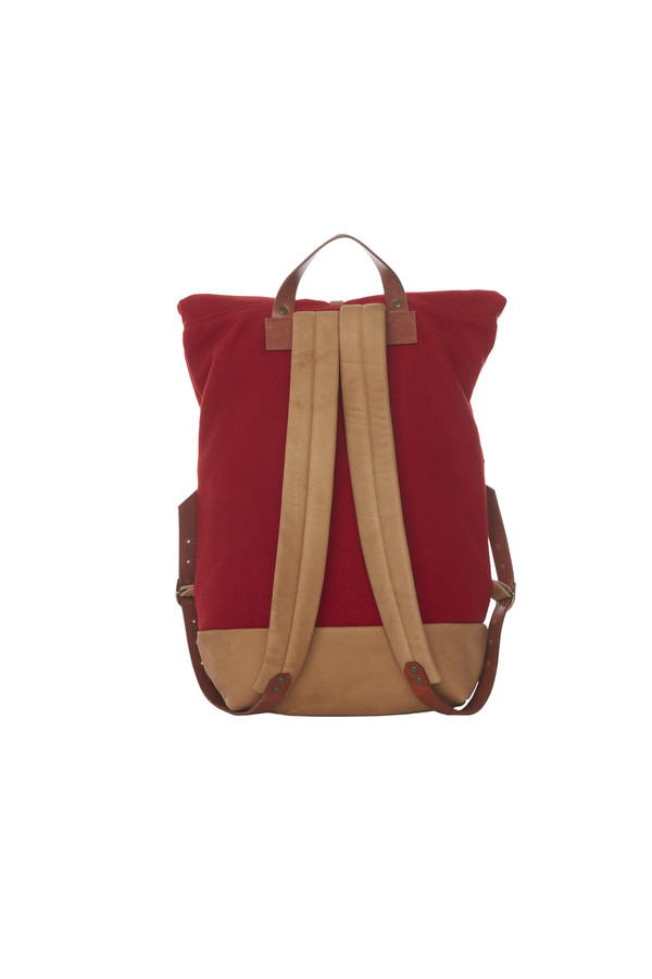 LOWELL DAVIDSON LAINE ROUGE / RED WOOL