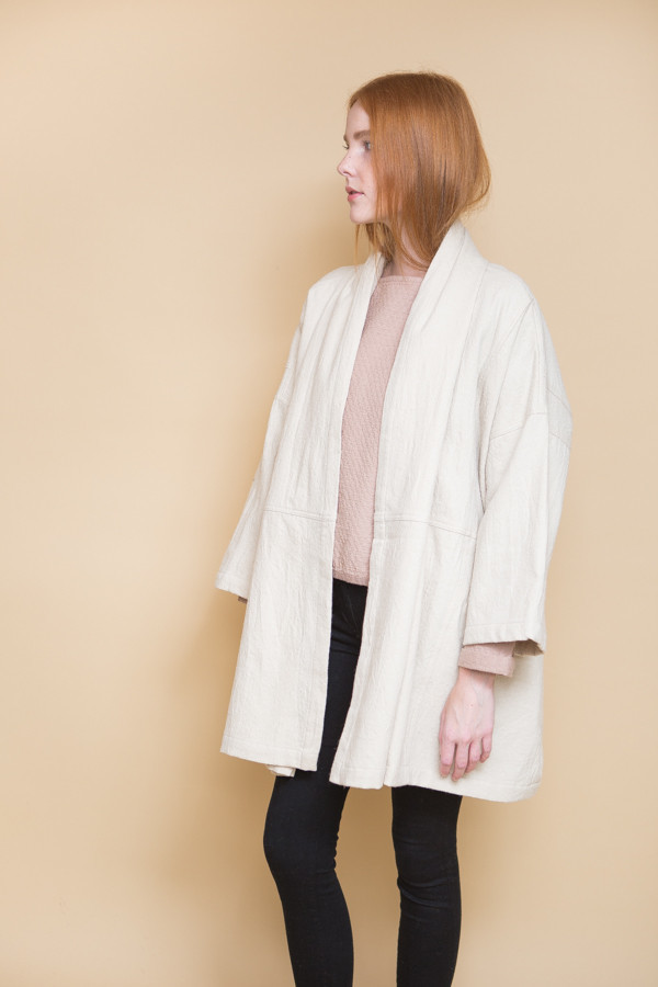 Atelier Delphine Antwerp Coat / Cream