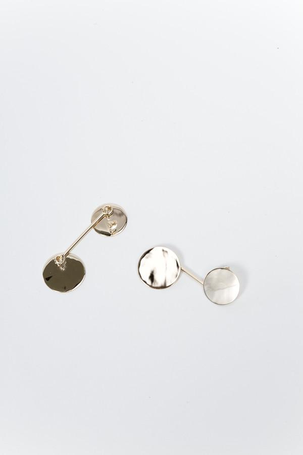 Trademark Drop Circle Earrings