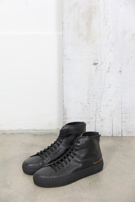 Common Projects TOURNAMENT HIGH SUPER BLACK