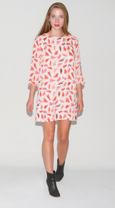 "Rachel Antonoff ""Tester"" Silk Dress"