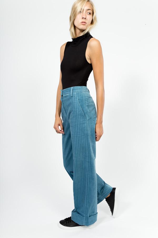 Trademark Corduroy Hi-Waisted Pant